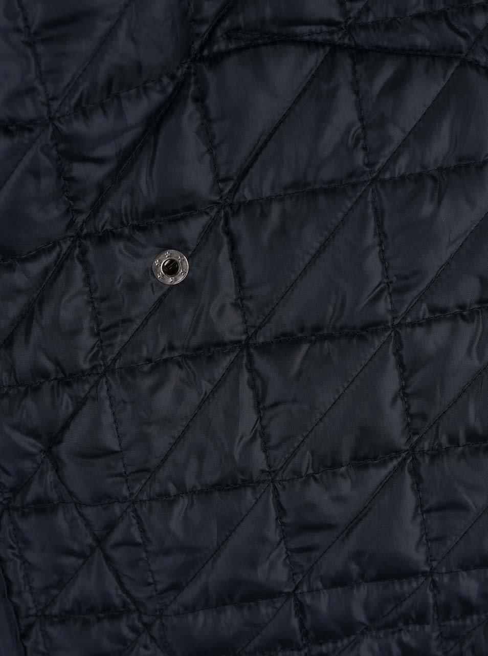 fd1b165c9f Tmavomodrá prešívaná bunda Shine Original Travis ...