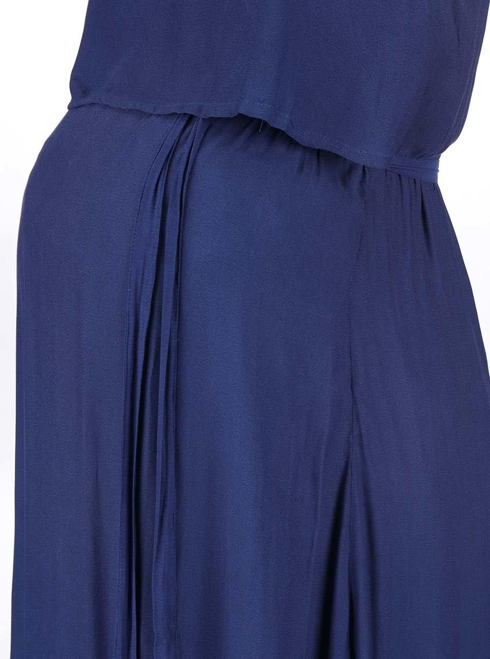 5b4dbe697703 Modré tehotenské šaty Mama.licious Ketty ...