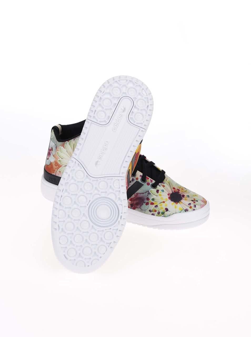 Barevné dámské kotníkové tenisky s potiskem adidas Originals Veritas W ... 7cebee6fec