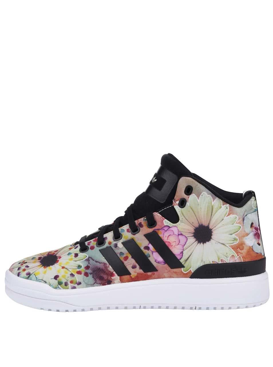 Farebné dámske členkové tenisky s potlačou adidas Originals Veritas W ... 031b57d3596