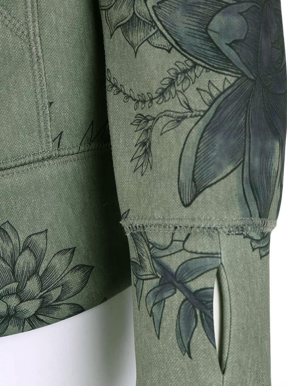 Zelená květinová dámská mikina Burton Heron ... aed142fbd7