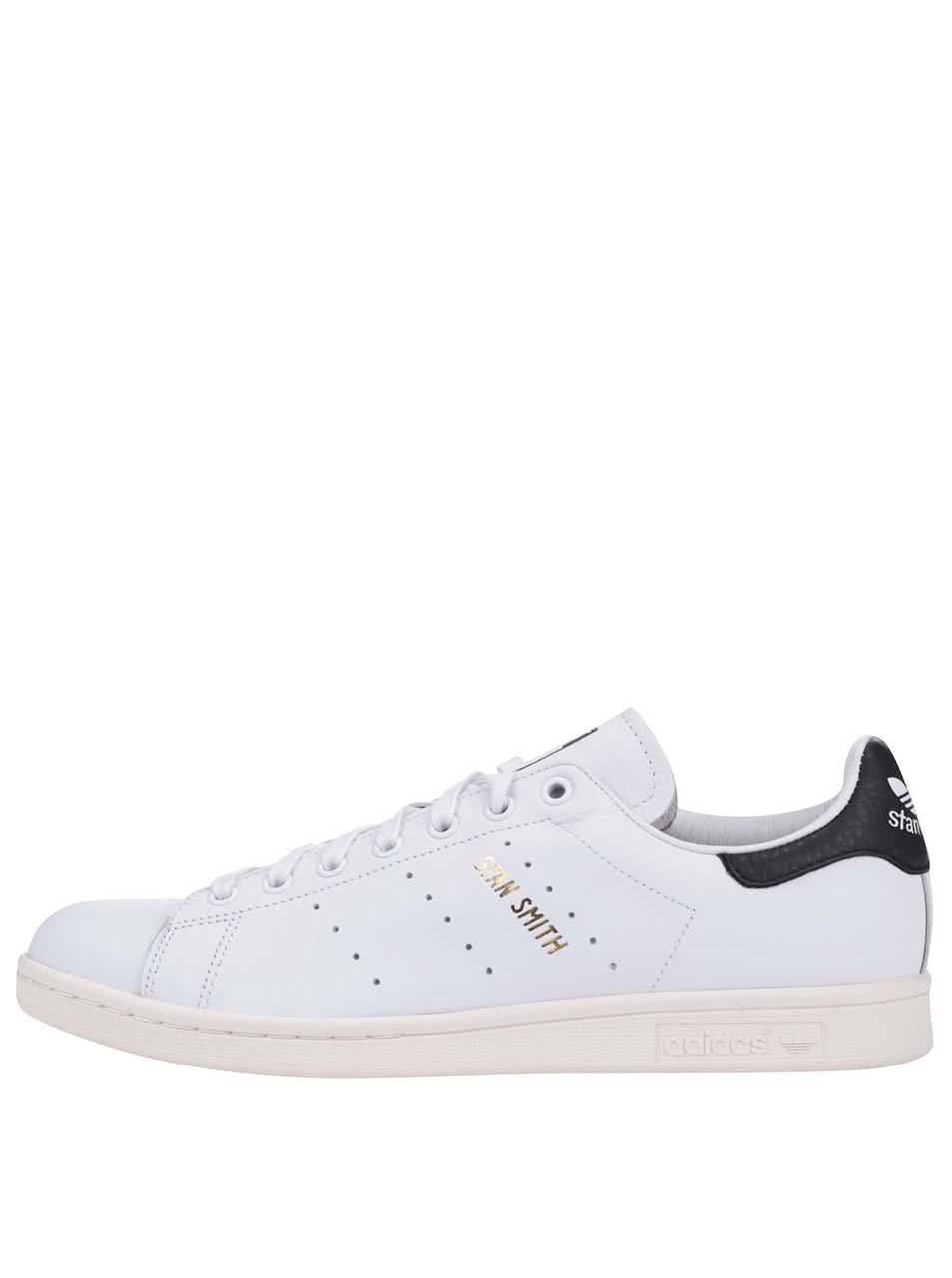 f96503d5d4fbb Čierno-biele pánske kožené tenisky adidas Originals Stan Smith | ZOOT.sk