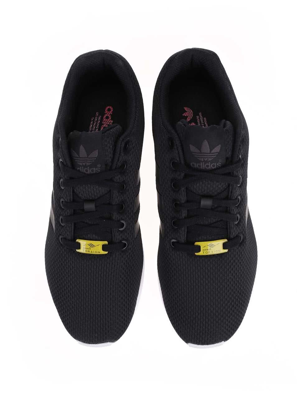 Čierne pánske tenisky adidas Originals ZX Flux ... 2b4d1075d5f