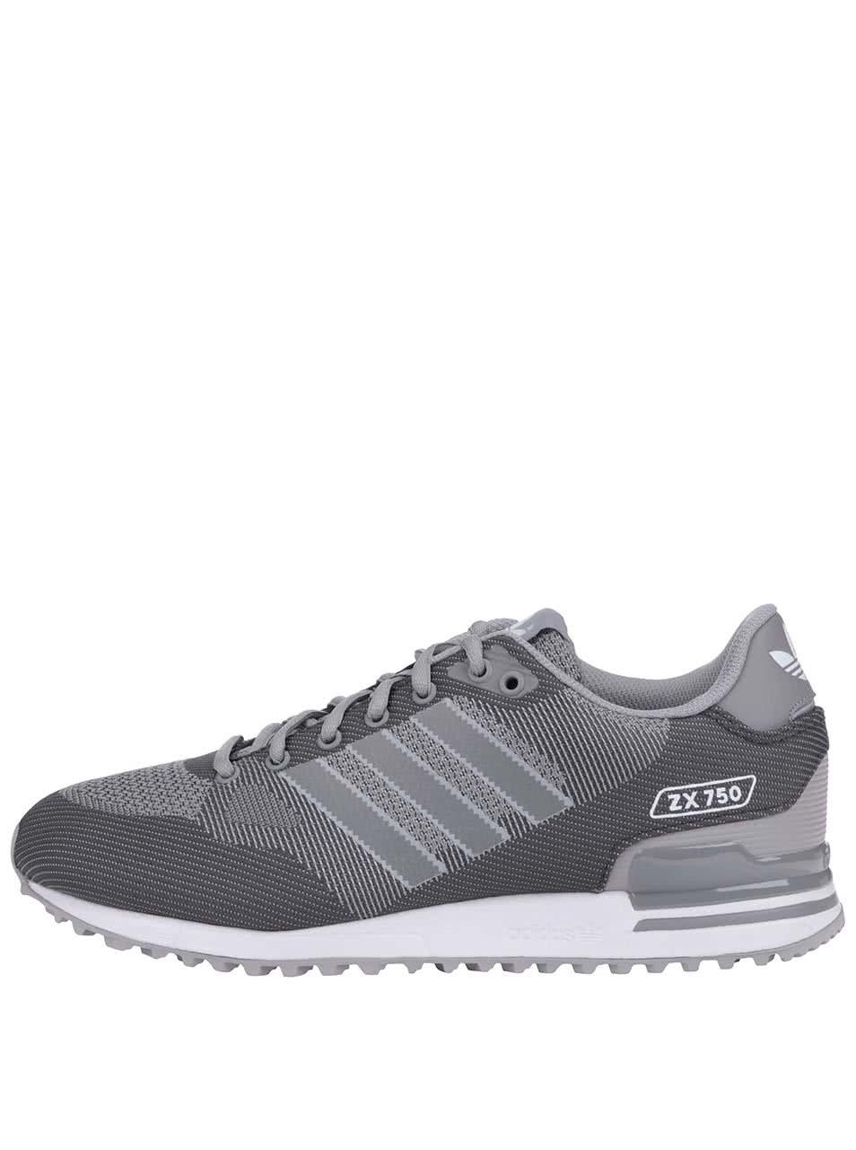 8c8b5f6fbd9 Šedé pánské tenisky adidas Originals ZX 750 WV ...