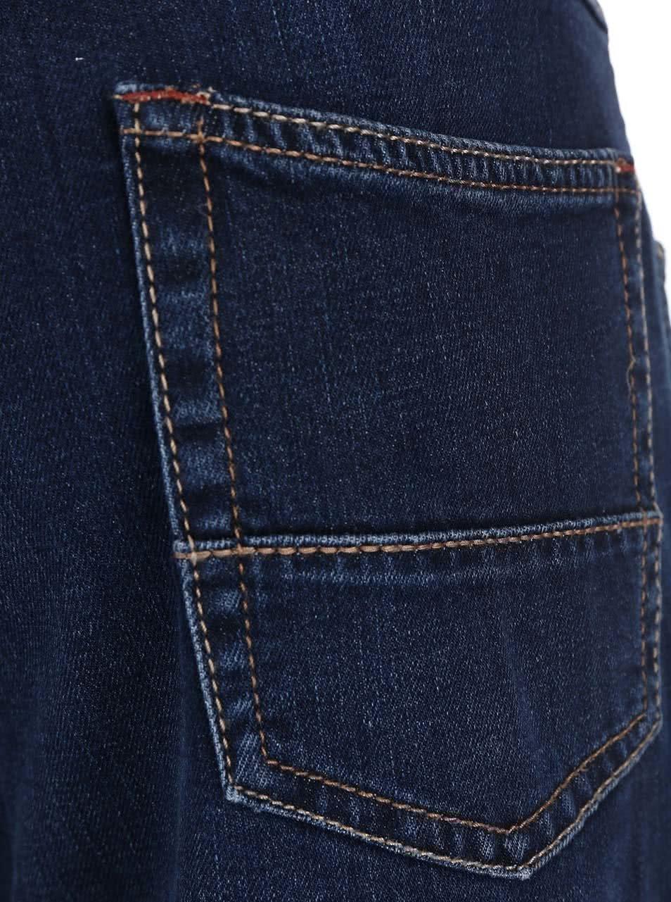 Modré pánské džíny bugatti ... 31ddf69143