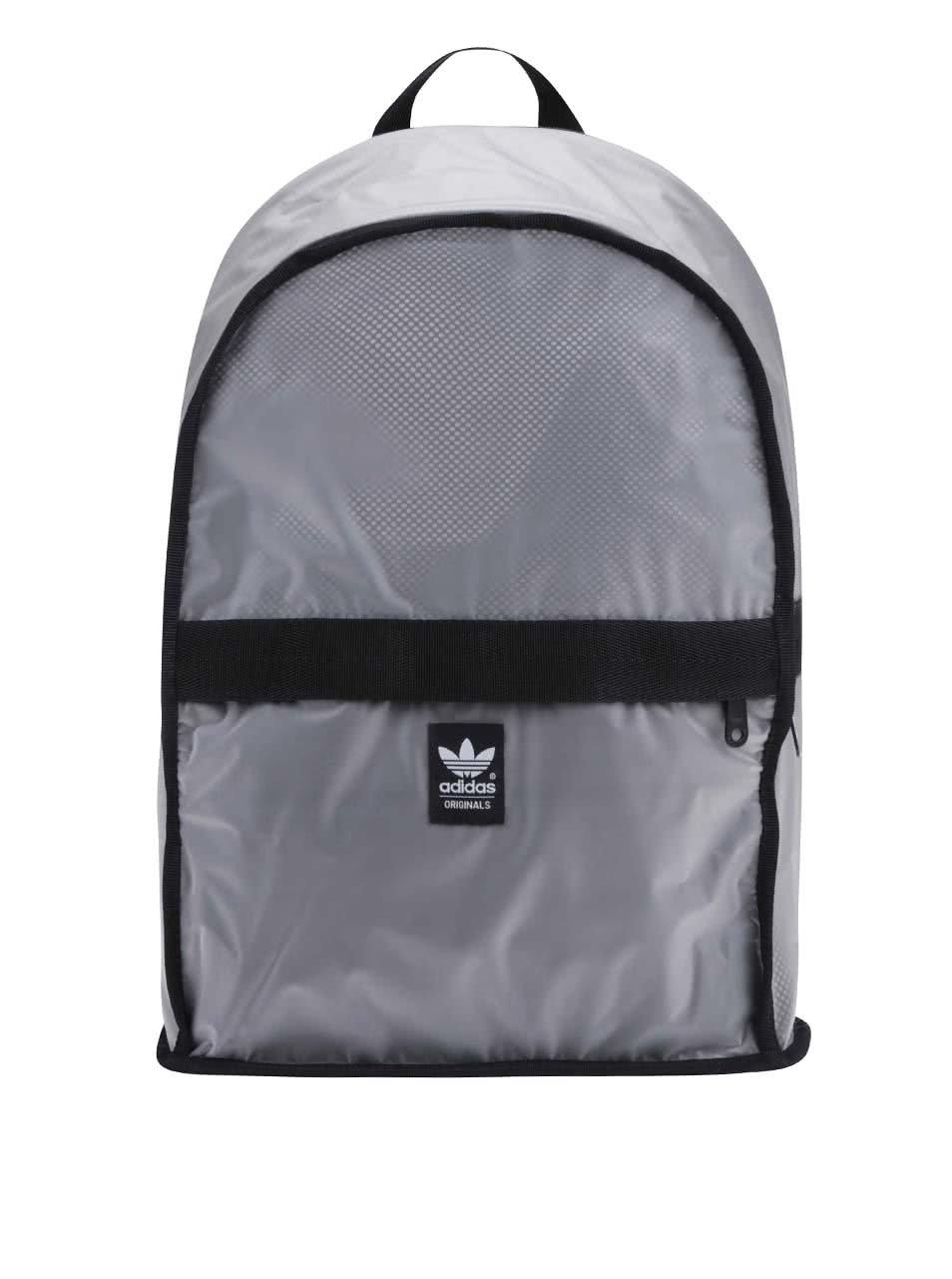 Šedý batoh adidas Originals Essential Basketball ... f91f298916