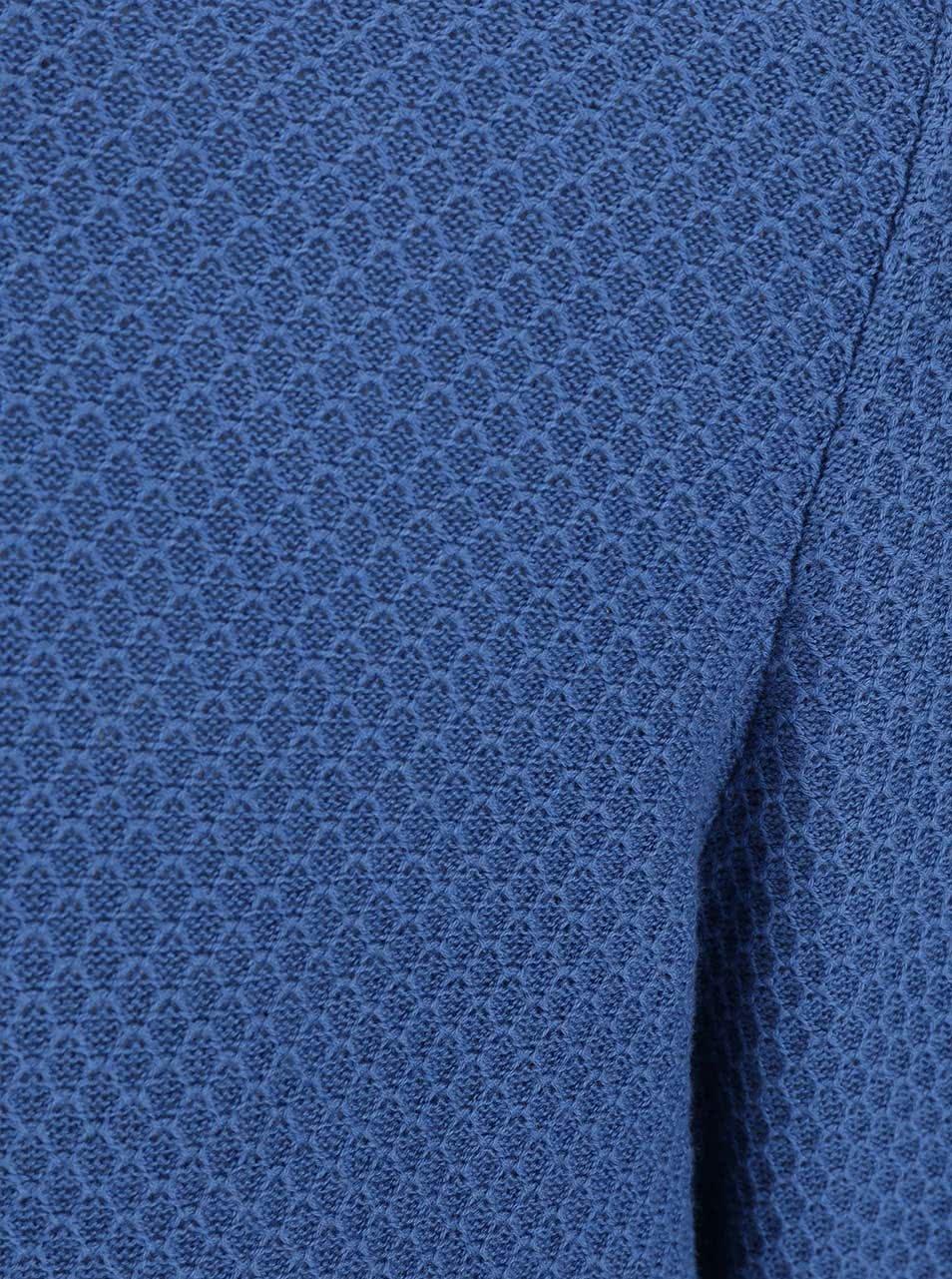 Modrý pánský svetr Bugatti ... 6745f6fed7