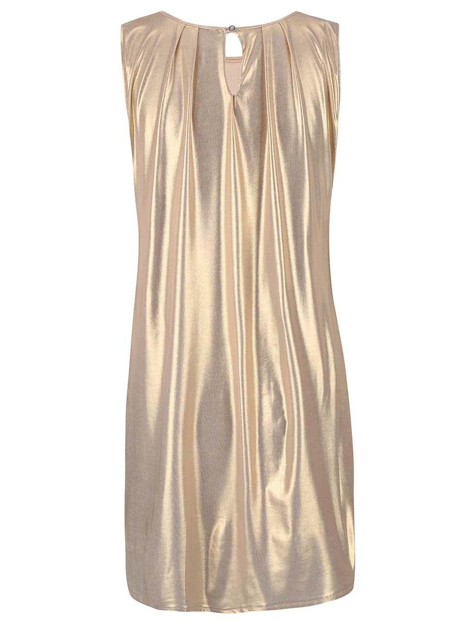 6101e76c6c5e Šaty ve zlaté barvě Alchymi Amber ...