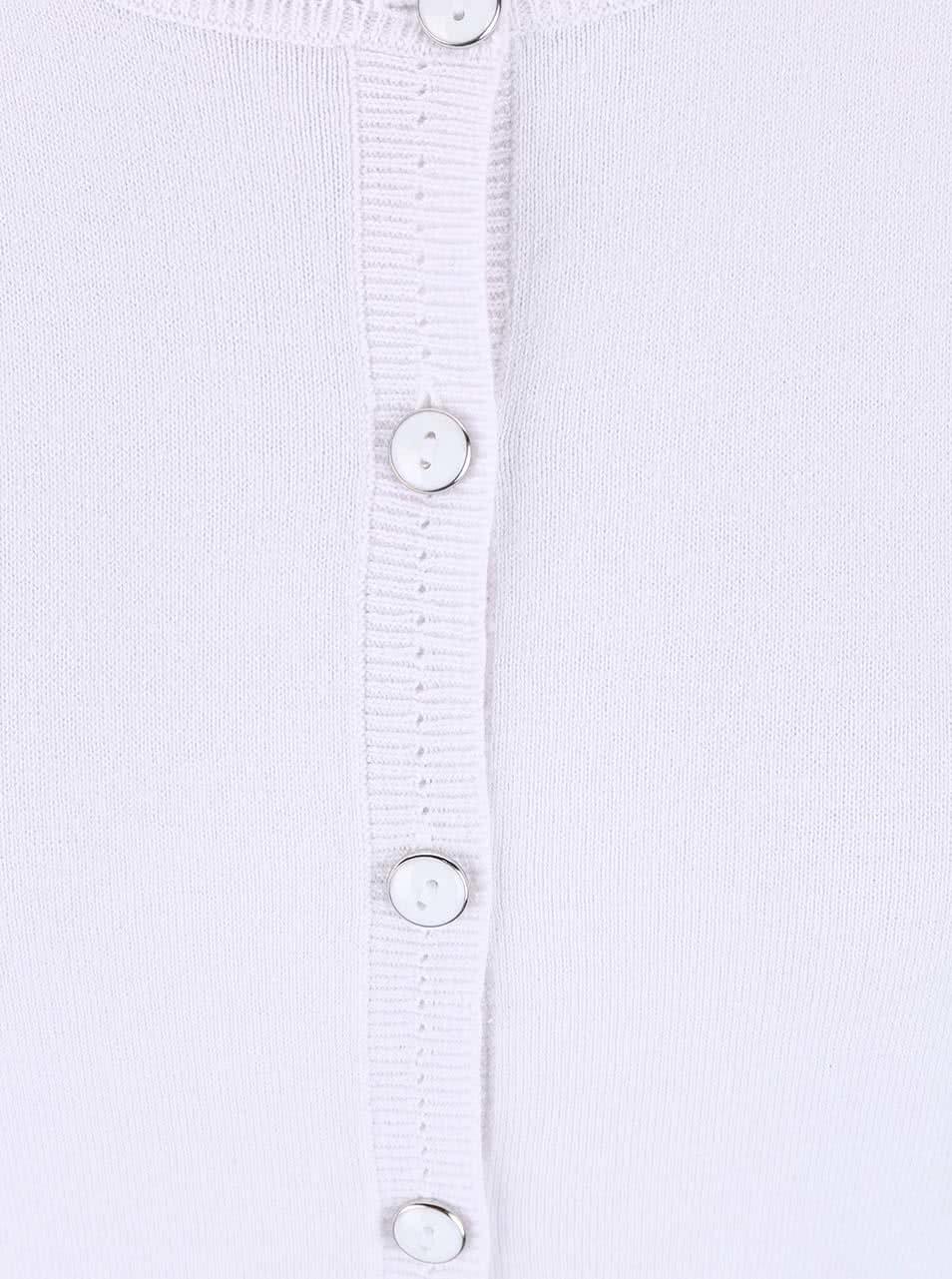 a8931f6a0d57 Biely sveter na gombíky Dorothy Perkins ...