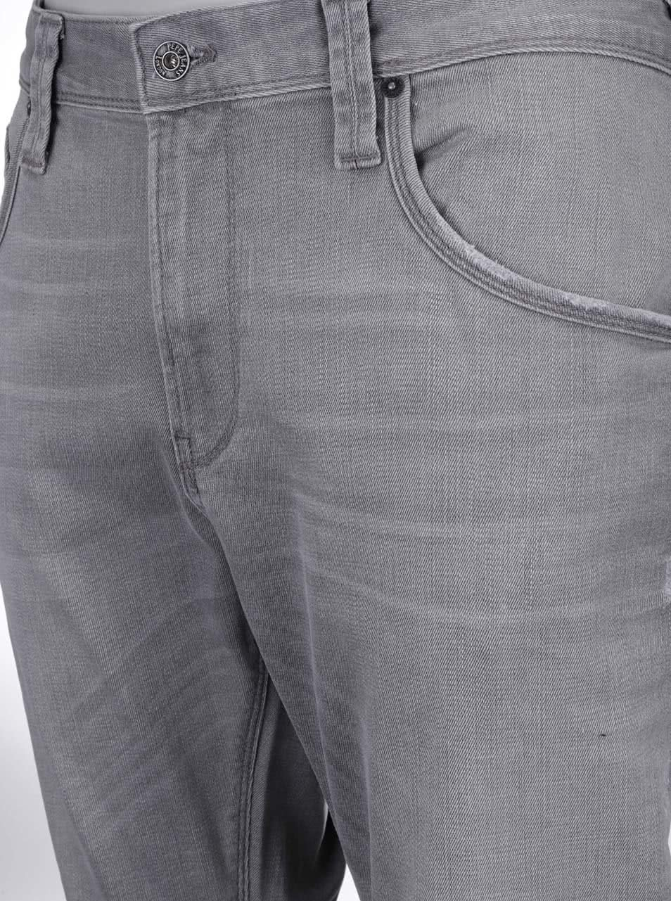 Šedé pánské slim džíny Pepe Jeans Zinc ... d8f6de2552