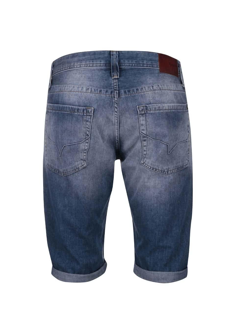 Modré pánské džínové kraťasy Pepe Jeans Cash ... c44ca01fb5