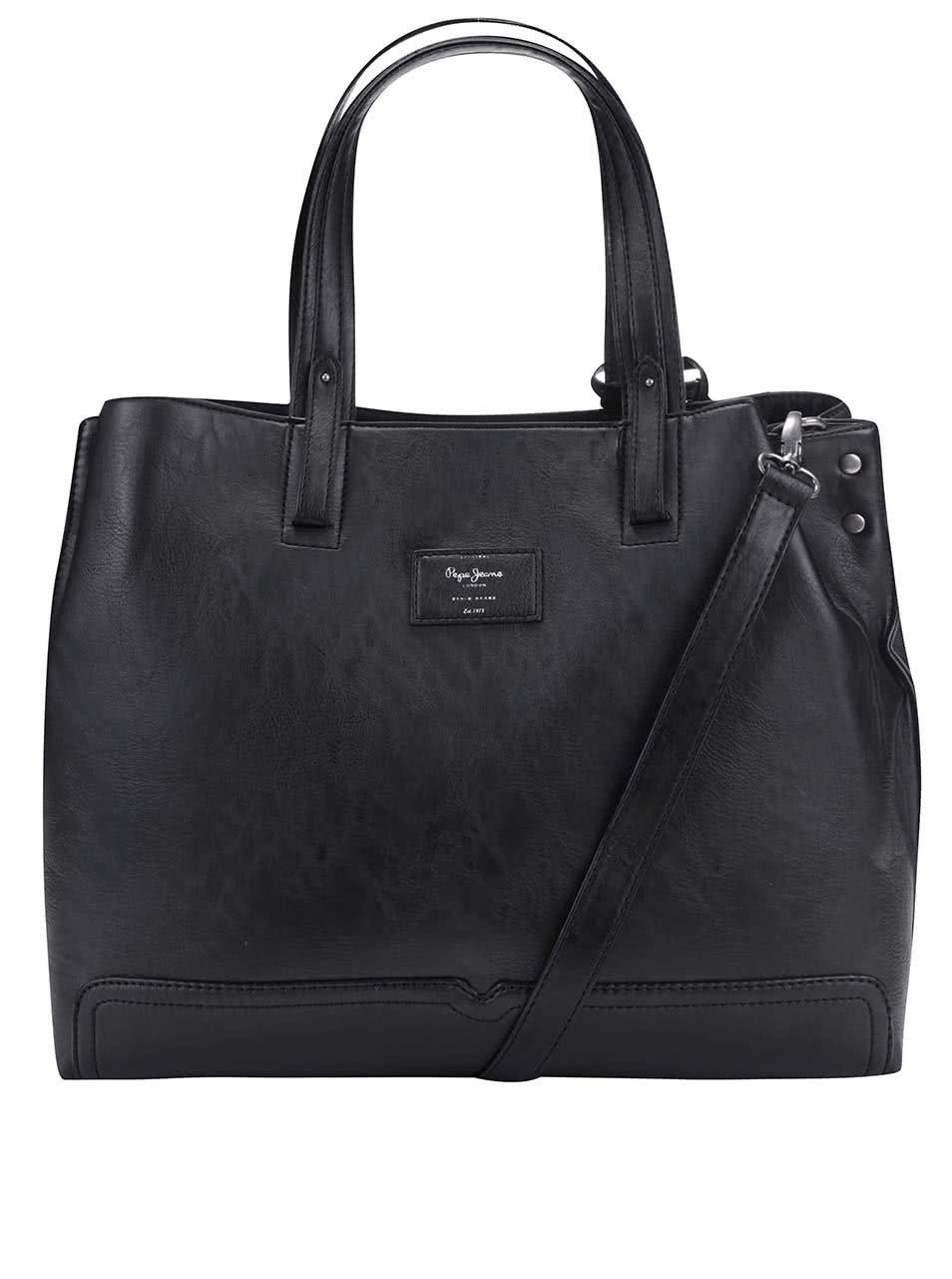Černá kabelka Pepe Jeans Betty ... 6f2bd9a2f2d