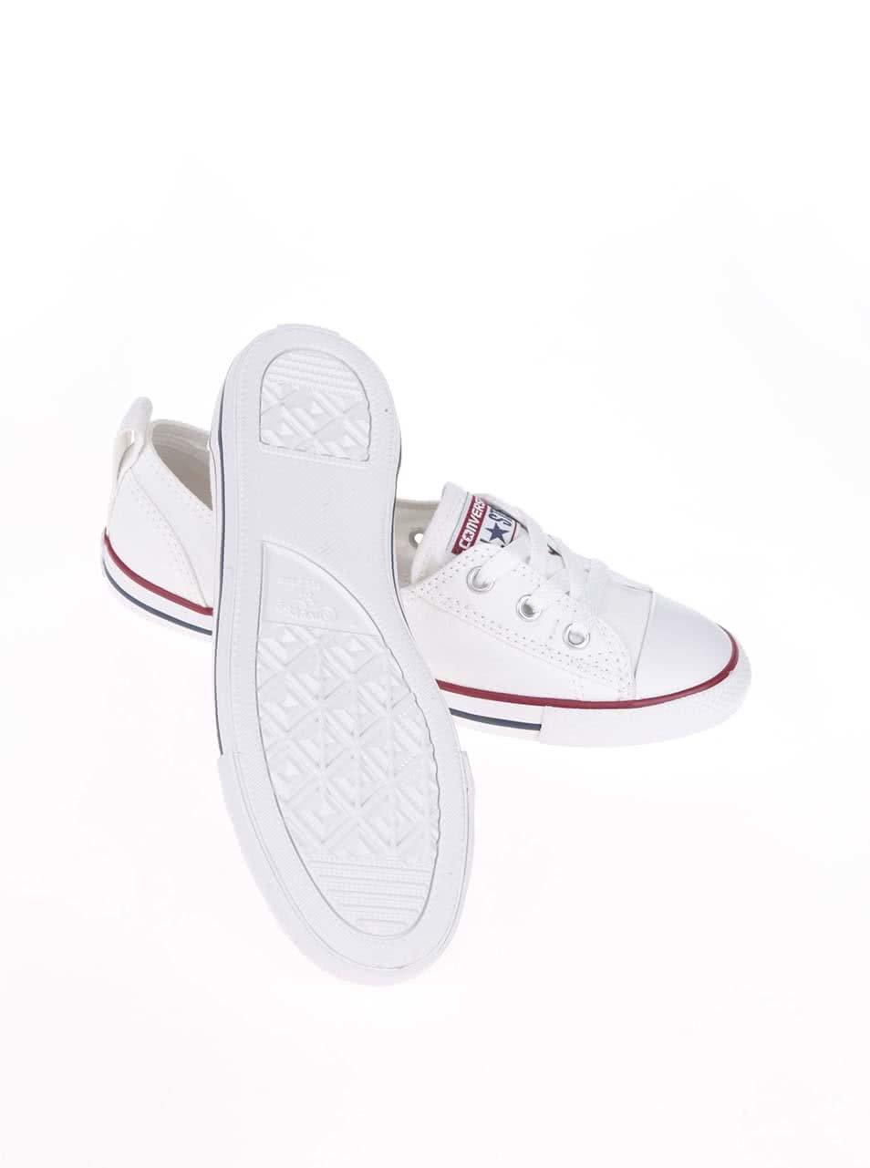 Bílé dámské tenisky Converse Chuck Taylor Ballet Lace ... b48470bd092