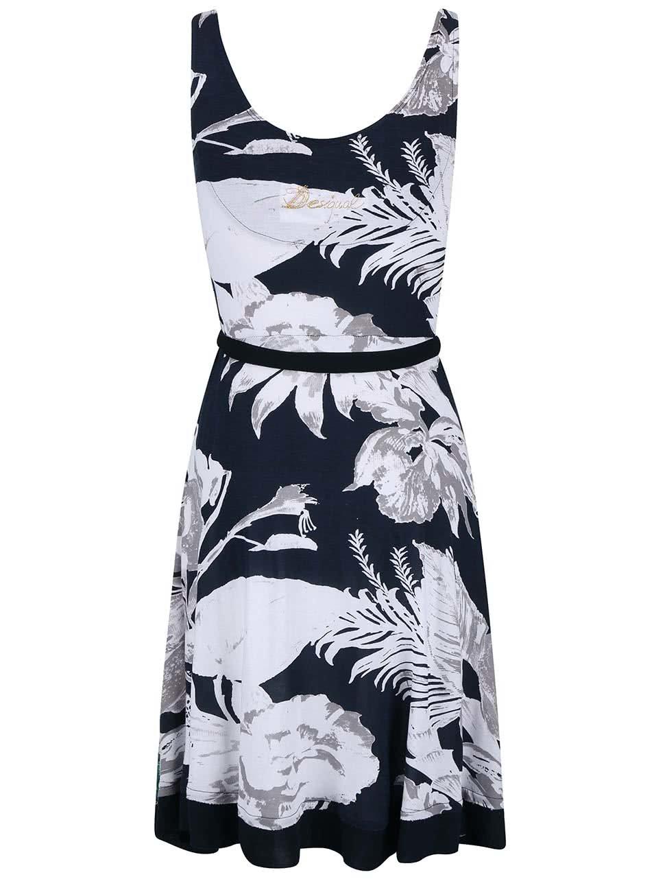 Barevné květované šaty Desigual Hallen ... 66b3fe33ae
