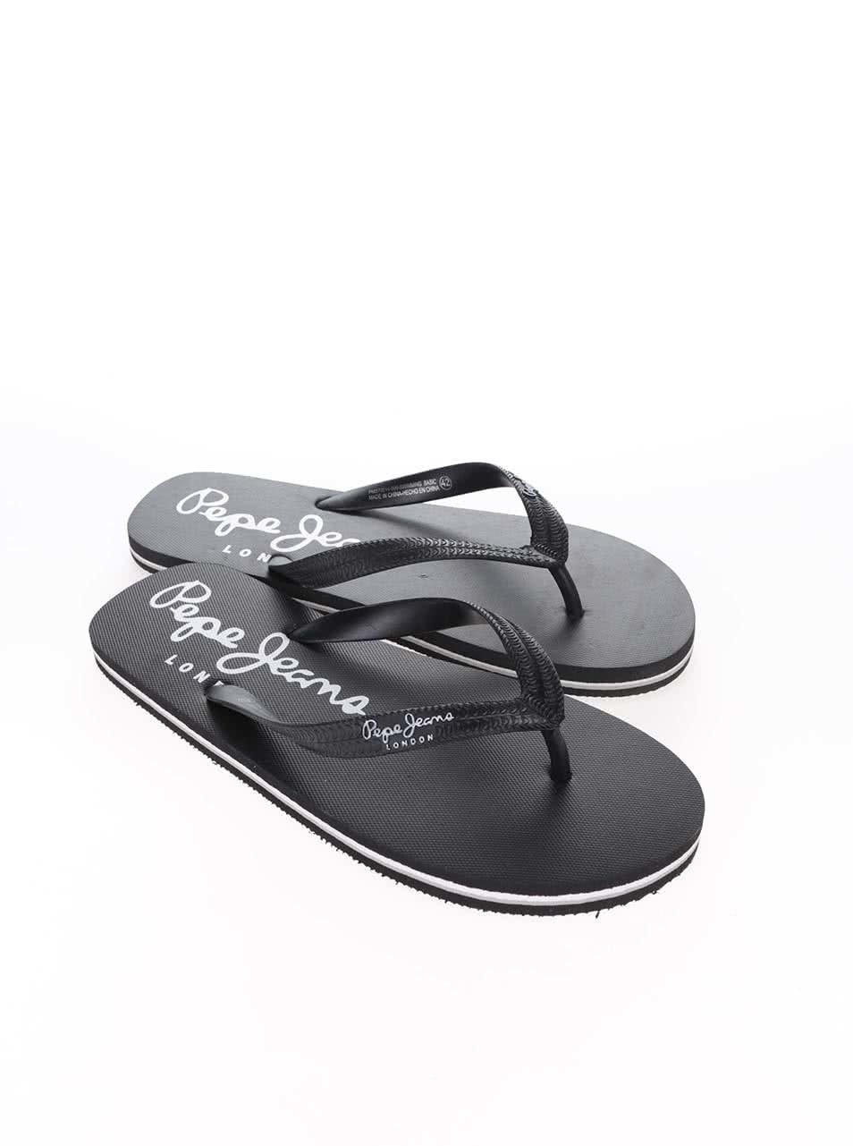 Černé pánské žabky Pepe Jeans Swimming ... 3c5e4ab8c6