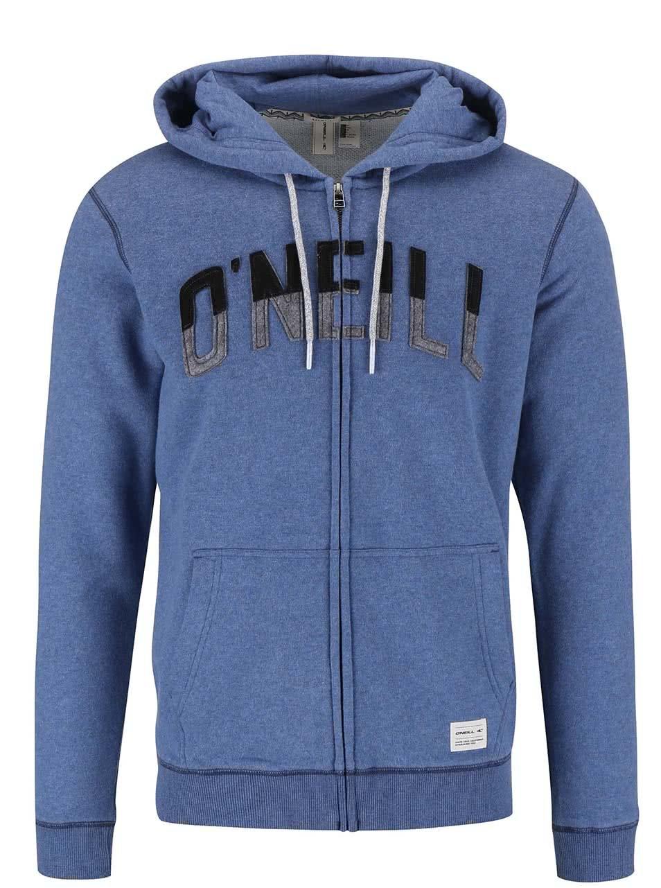 Modrá pánska mikina na zips O Neill PCH FULL ZIP ... 8020f3b3377