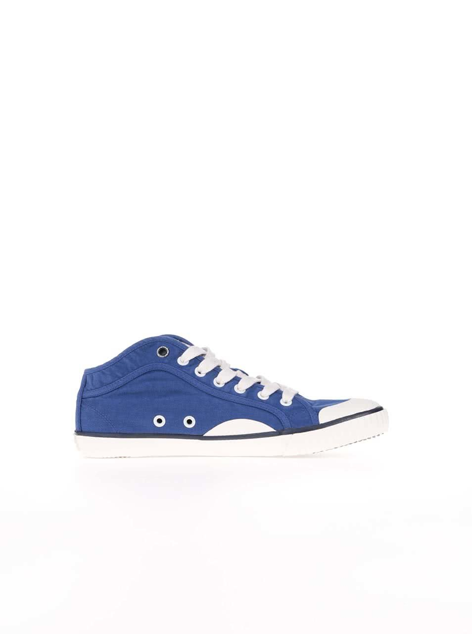 a1cad38d166 Modré pánske tenisky Pepe Jeans Industry ...