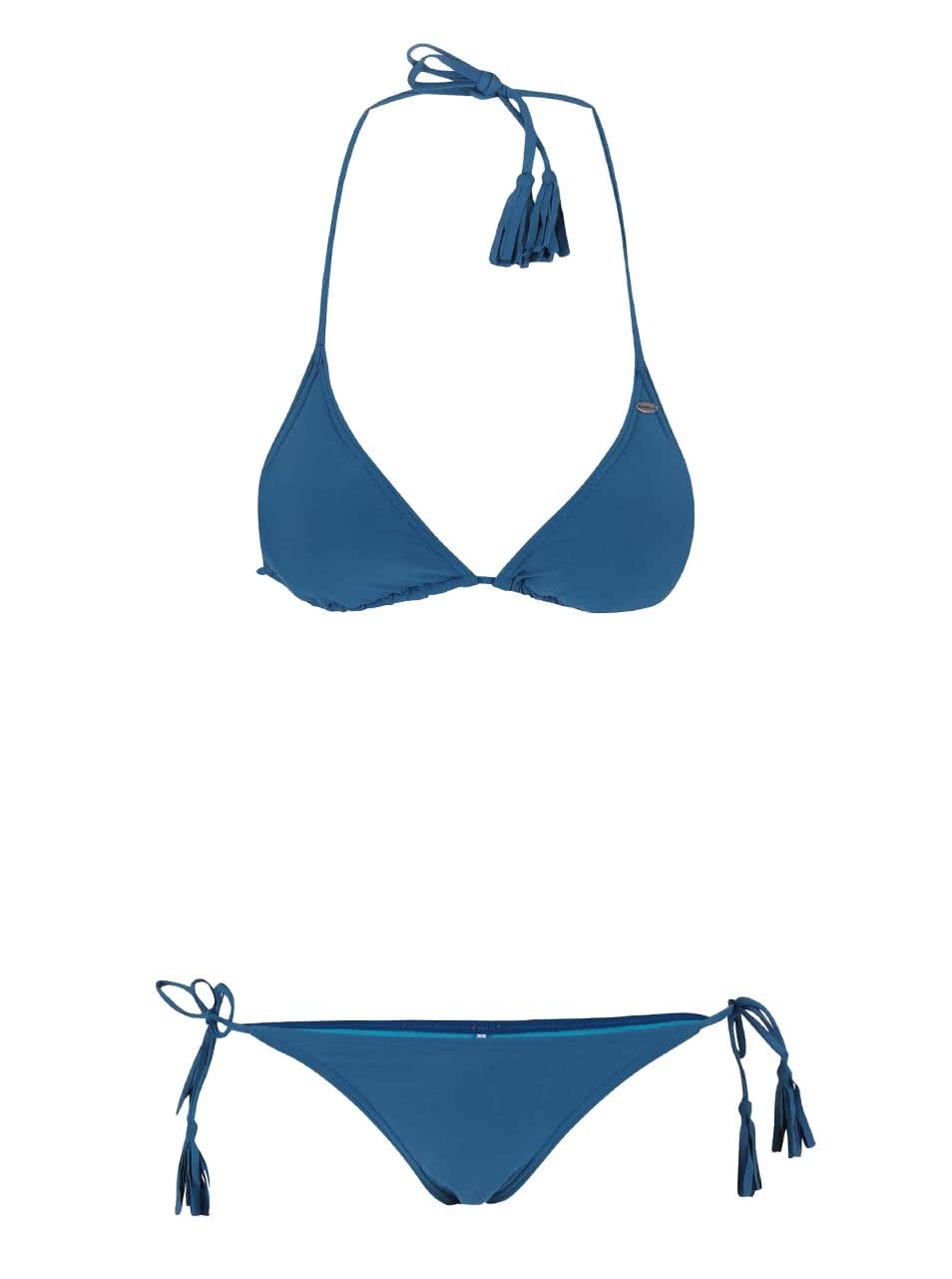 7481f72ed9 Modré plavky O Neill Solid Triangle ...