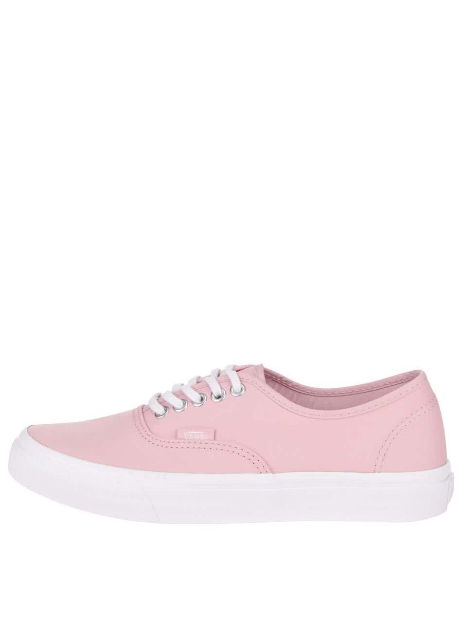 Ružové dámske tenisky Vans Authentic ... 9230558d22