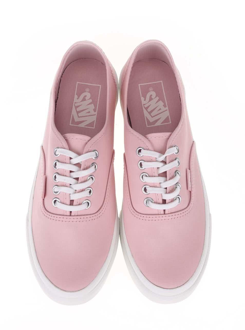 Růžové dámské tenisky Vans Authentic ... 0473352132