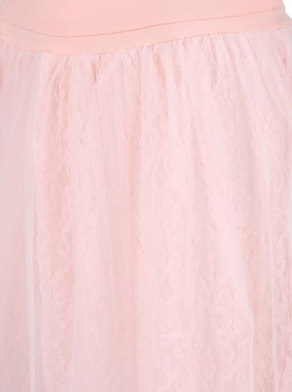 06b3c8b69df Světle růžová taneční sukně DEHA ...