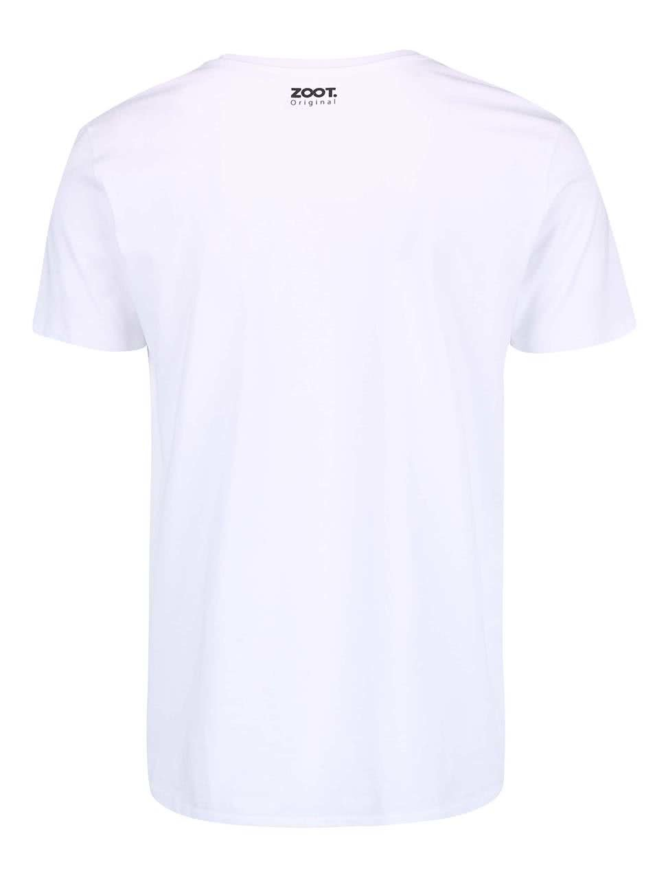 79c1fc5145853 Biele pánske hokejové tričko ZOOT Originál Ihrisko   ZOOT.sk