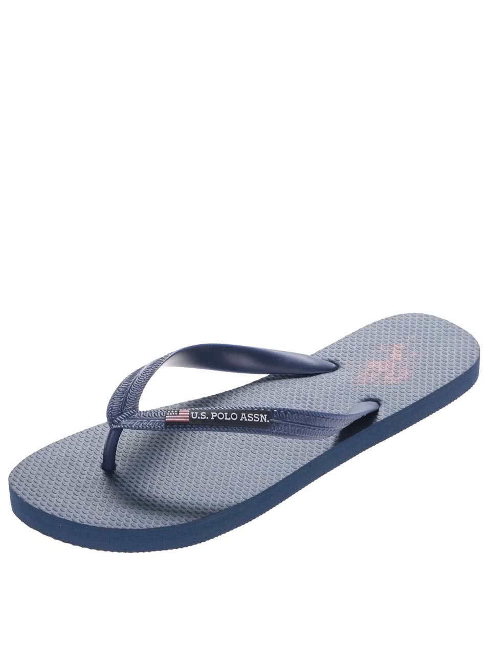 0f26810522 Tmavě modré pánské žabky U.S. Polo Assn. Barclay ...