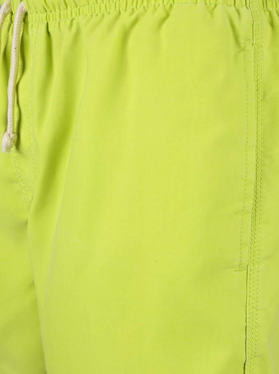 60a7b46dd53 Limetkově zelené pánské plavky Rip Curl Bondi ...