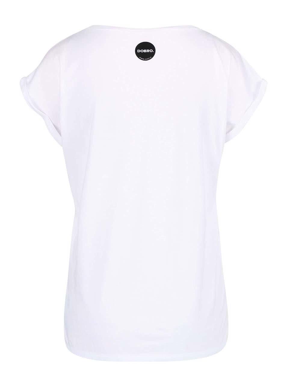"""""""Dobré"""" bílé dámské tričko pro Automat"""