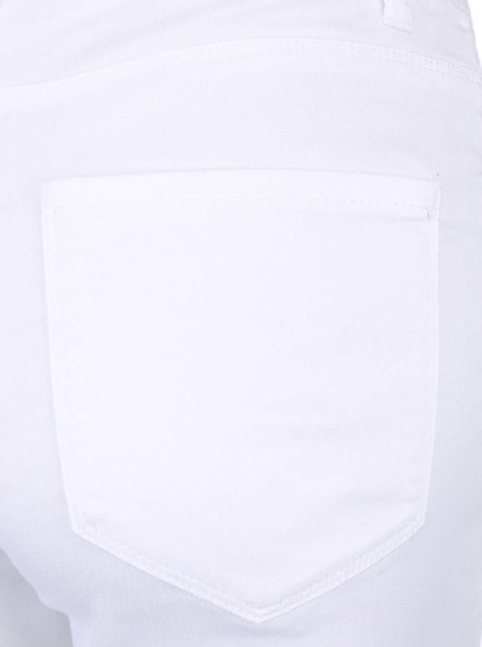 f5cb97b30aa Bílé elastické džíny VERO MODAy Flex ...