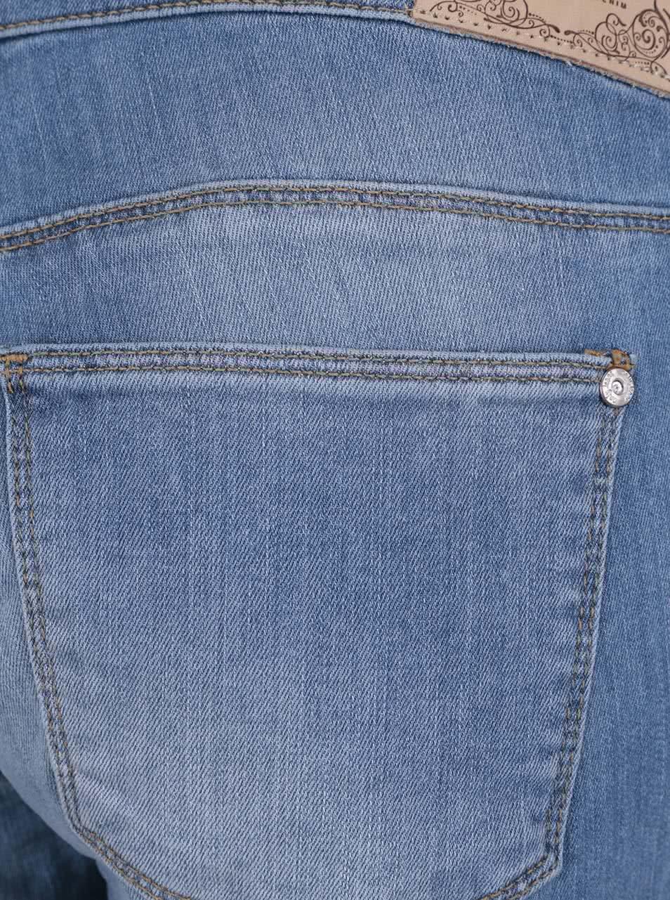 8200d0bcdef Modré džínové lacláče ONLY New Kim ...