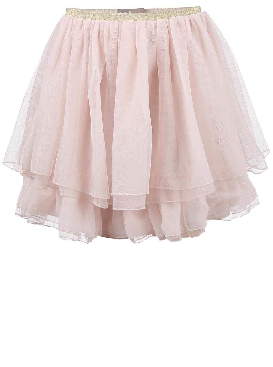674d8e7457 Ružová dievčenská sukňa name it Hanja ...