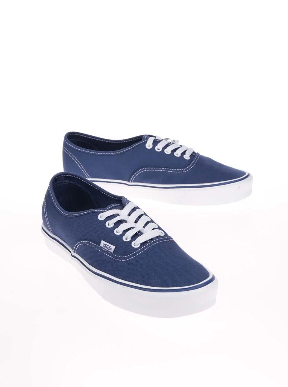 Modré pánske tenisky Vans Authentic Lite ... d21e4797d36