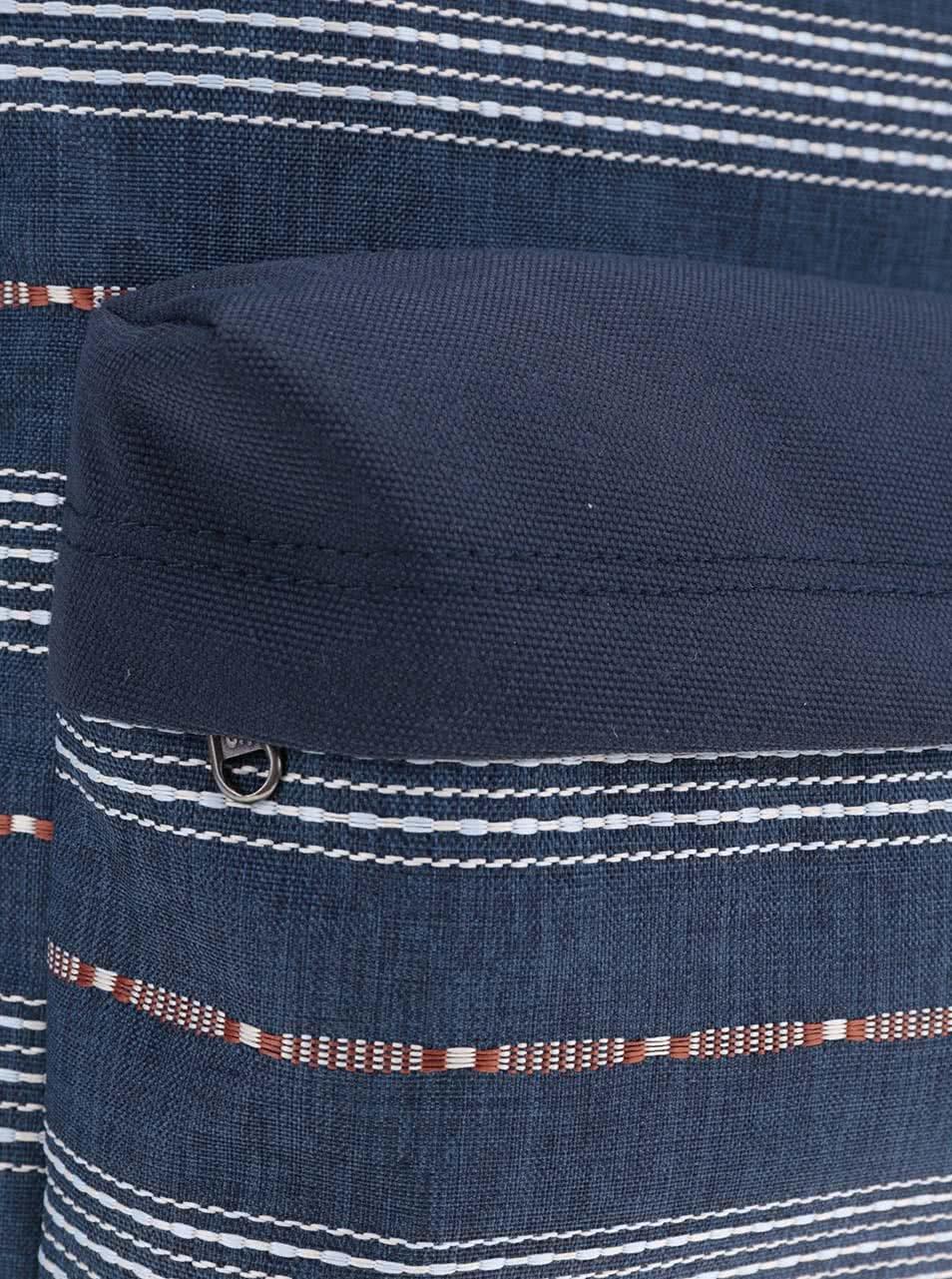 ebe5d7a735 Modrý vzorovaný pánský batoh Vans Old Skool ...