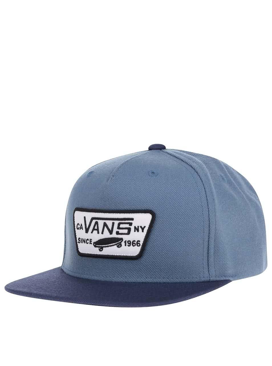 Modrá pánska šiltovka Vans ... e01dbee620e