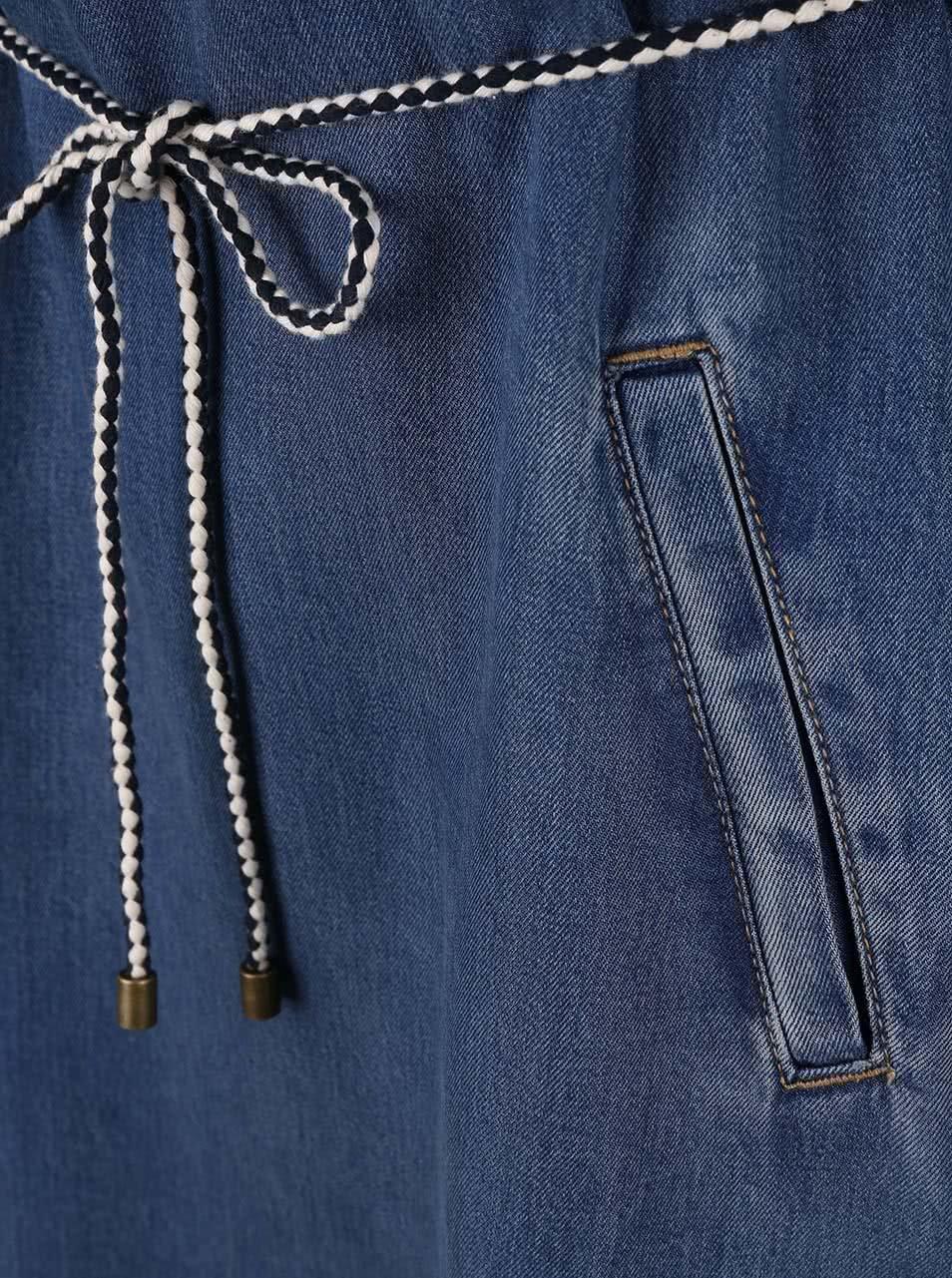 1f1783691 Modré dámske rifľové šaty s.Oliver | ZOOT.sk