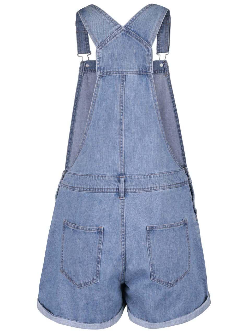 Modré džínové kraťasy s laclem Dorothy Perkins ... 80ab7218a11