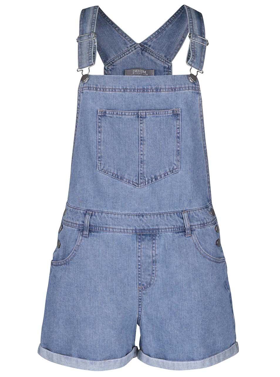 Modré džínové kraťasy s laclem Dorothy Perkins ... 6e0fc5fc19
