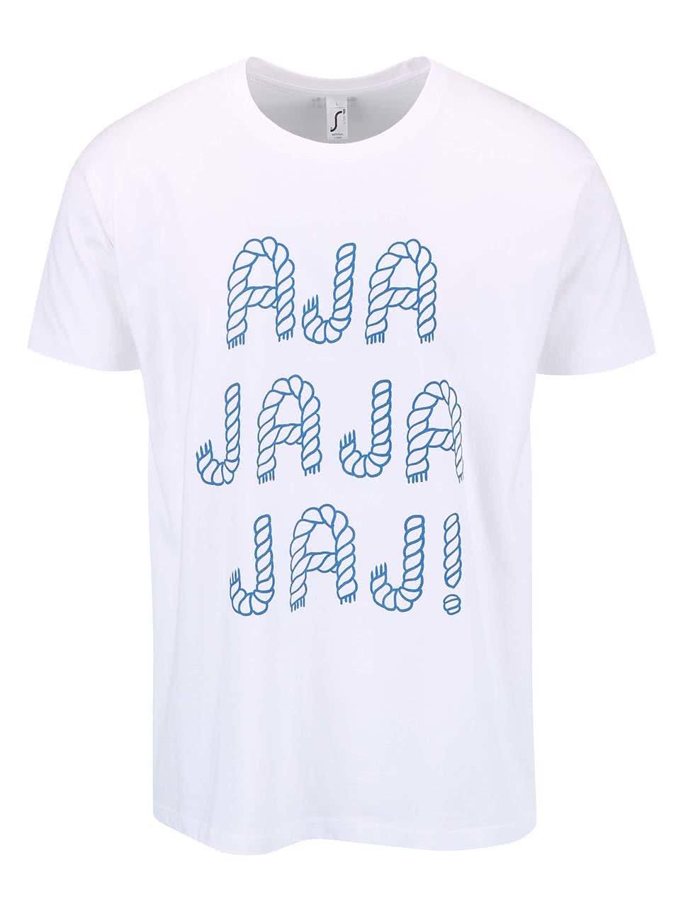 Bílé pánské triko ZOOT Originál Ajajajajaj ... f1a9aee7922