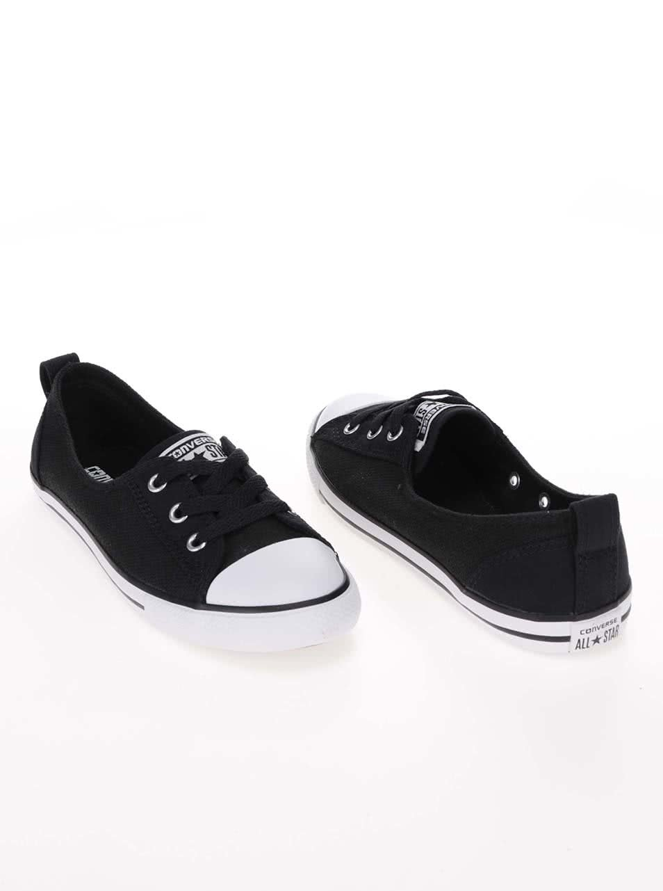 db9ae1c164f Tenisi Converse Chuck Taylor All Star Ballet Lace negri ...