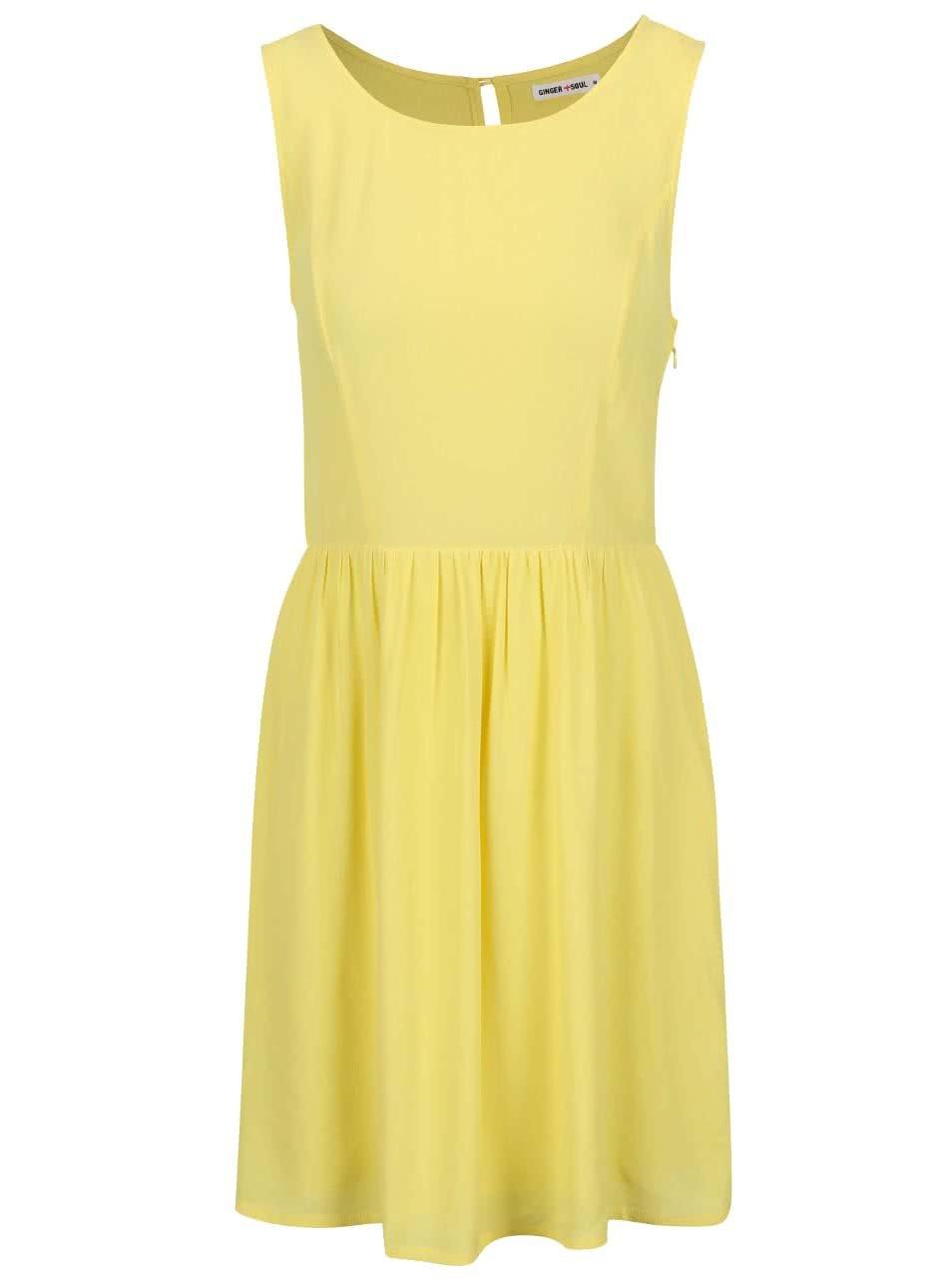 Žlté letné šaty GINGER+SOUL ... 97ce042635