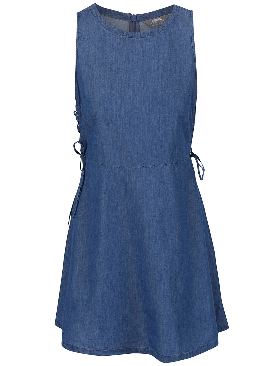 f217f40201d7 Modré rifľové šaty Dorothy Perkins ...