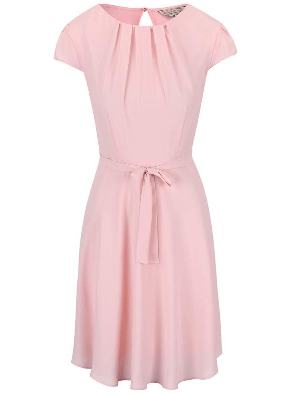 Světle růžové šaty Dorothy Perkins ... fe097d9079