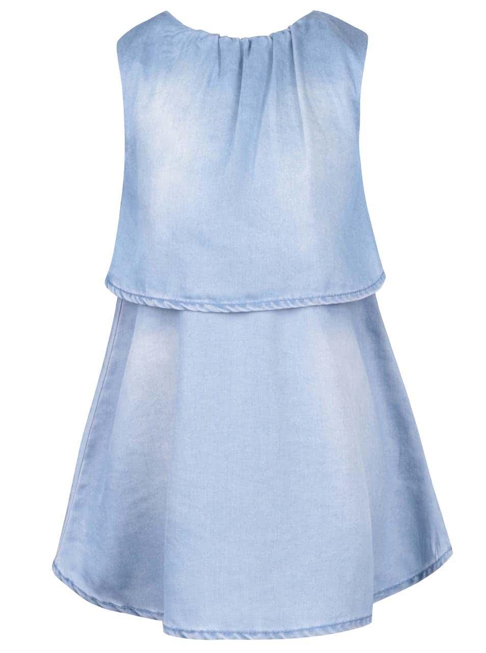 d42f56f41147 Modré dievčenské rifľové šaty name it Sisielga ...