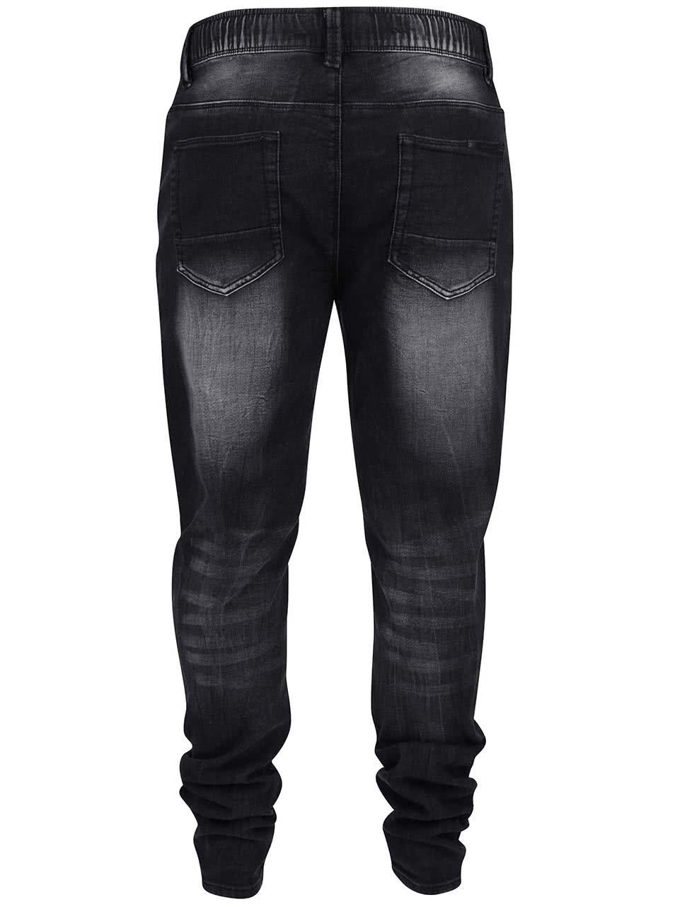 Šedo-černé pánské džíny Shine Original ... ac2df986d5