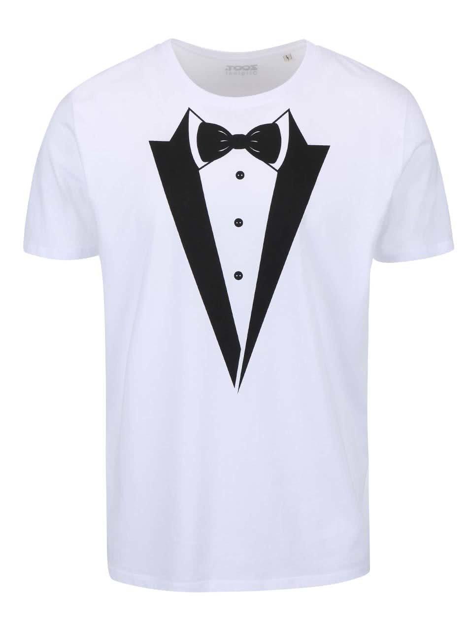 d3d344538c7f Biele pánske tričko ZOOT Originál - Ženích ...