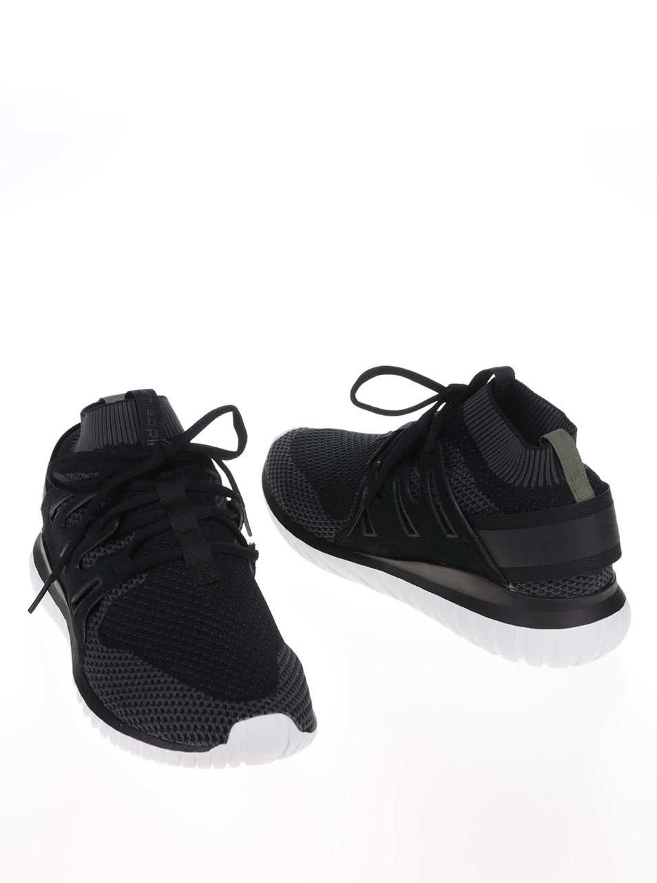 Čierne pánske tenisky adidas Originals Tubular Nova ... 4af4b5555b1