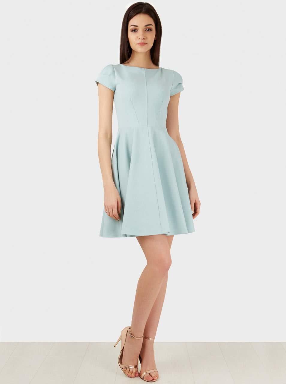 Mentolové šaty Closet ... b3297b1fce5
