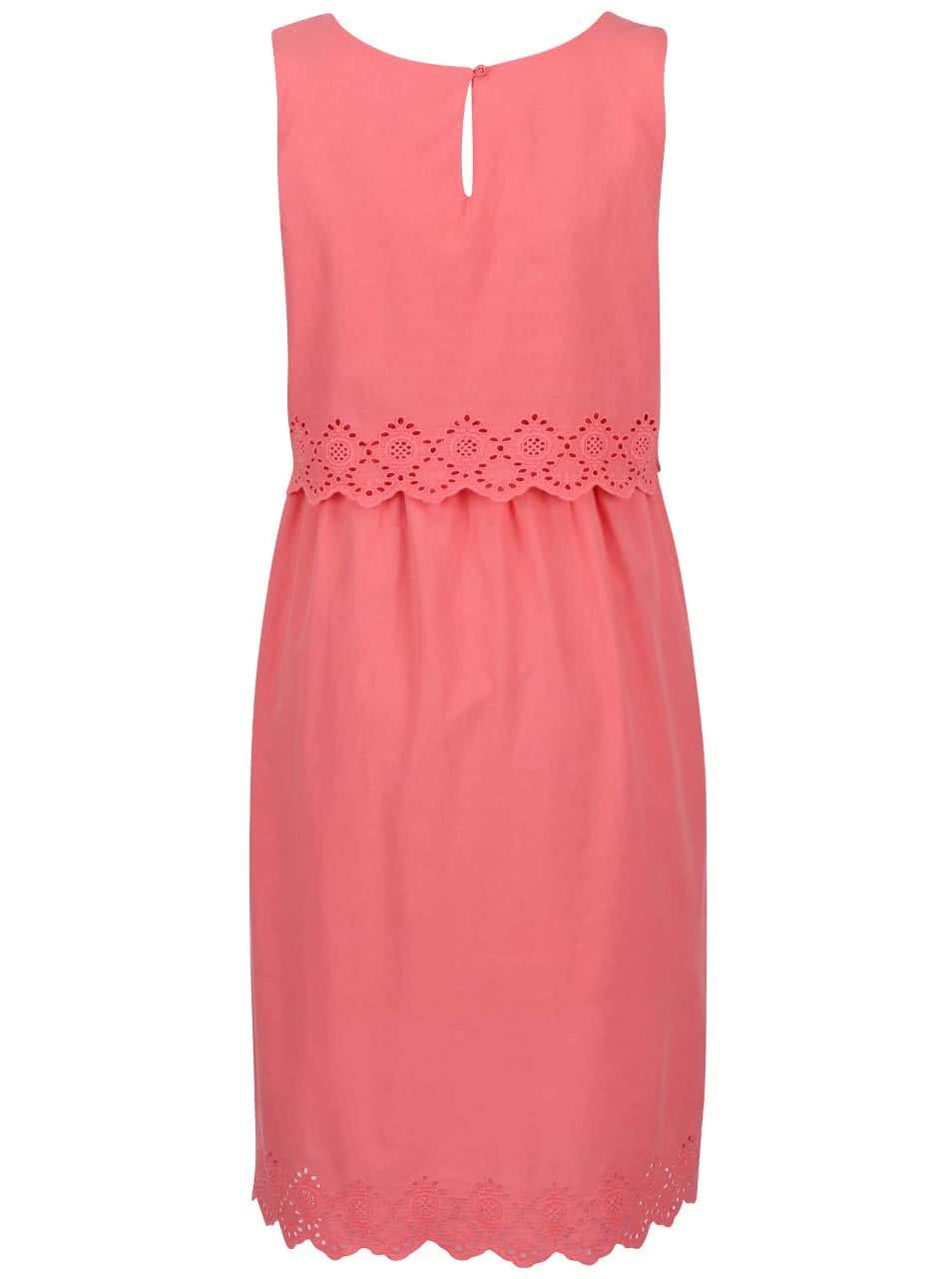 14ae5e52e3c0 Ružové tehotenské šaty Mama.licious Femmy ...