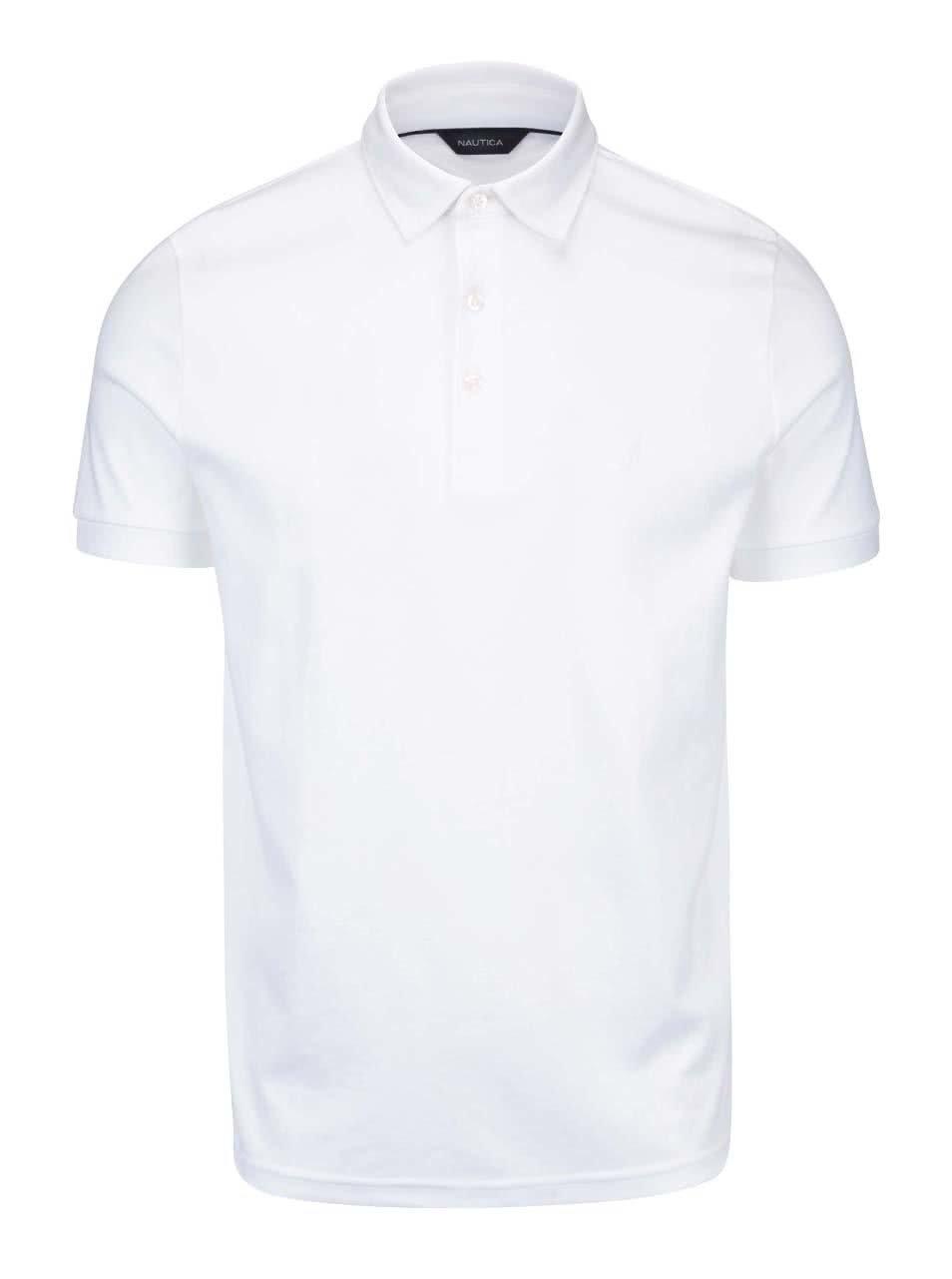 Bílé pánské polo triko Nautica ... 9da1d4f402